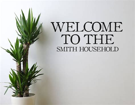 welcome wall stickers welcome vinyl wall sticker contemporary wall stickers