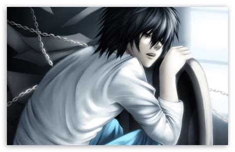 death note lawliet  hd desktop wallpaper   ultra hd tv tablet smartphone mobile