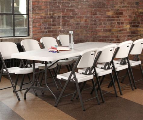 lifetime 8 folding table 2984 lifetime 8 plastic lightweight folding table