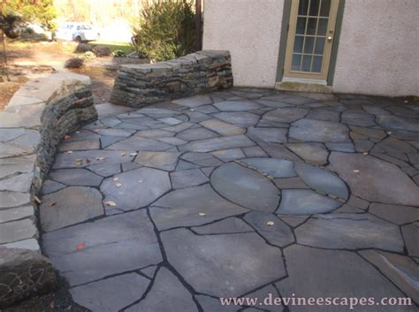 stone patio artistic flagstone patios devine escapes