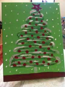 15 easy canvas painting ideas for christmas noted list