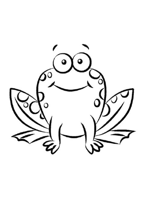 easy frog coloring page simple frog printable coloring pages letter f
