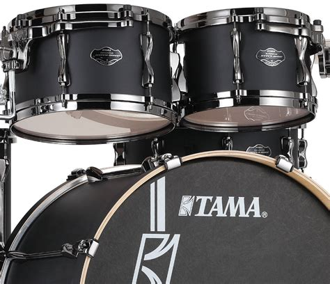 Tama Superstar Hyperdrive Maple Ml62hzbns 6 Fbf tama superstar hyper drive 6 in flat black drum shop
