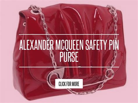 Mcqueen Safety Pin Purse by Mcqueen Safety Pin Purse Fashion