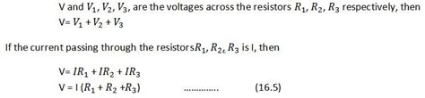 how to find current passing through resistor resistance 10th physics lesson 16 4 part 2