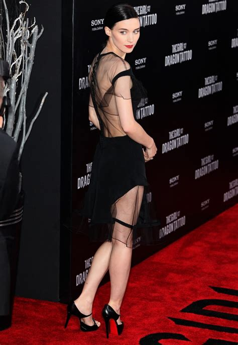 rooney mara dragon tattoo rooney mara picture 21 new york premiere of the