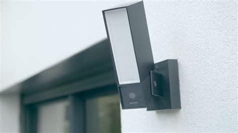 exterior light with camera netatmo s light based camera brings figure recognition