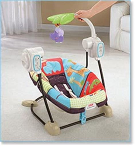 baby swing for small spaces fisher price space saver swing and seat luv u zoo best