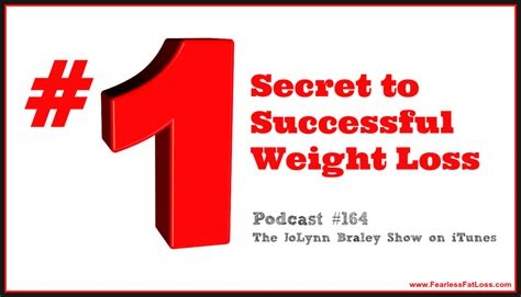 Top Secrets To Successful Weight Loss by The Number One Secret To Successful Weight Loss Podcast