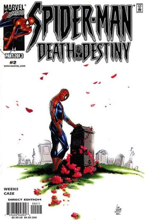 the of destiny volume 2 books spider and destiny vol 1 2 marvel comics database