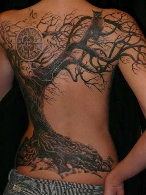 tattoo back tree amazing dead tree tattoo design tattoo idea pinterest