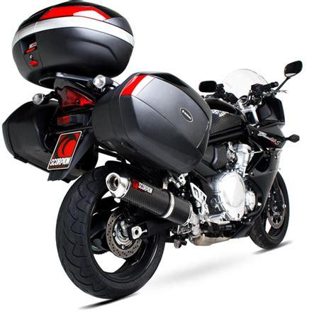 Suzuki Bandit 1250 Gt Scorpion Factory Carbon Oval Exhaust Suzuki Gsf 1250