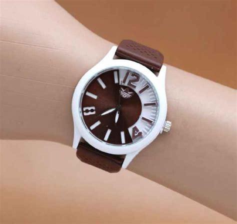 Jam Tangan Ripcurl 169 Cokelat Tua jual jam tangan adidas sport rubber warna warni murah