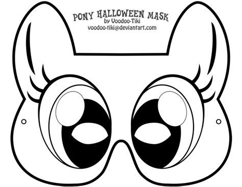 my little pony mask template printables narodeniny
