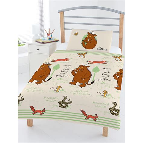 Gruffalo Bed Set The Gruffalo Woodland Junior Duvet Cover Set Bedding Toddler