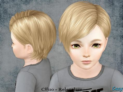 sims 3 toddler hair cazy s relentless hairstyle toddler