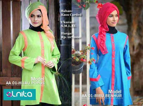 Baju Dress Gamis Wanita Alnita Ag 02 Lavender koleksi busana muslimah baju muslim koleksi baju