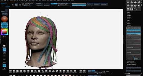 zbrush tutorial hair using zbrush to create hair for the gmh2 plugin in maya