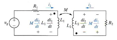 inductance dot convention blastic inductance and dot convention