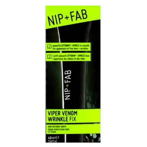 Nip Fab Viper Venom Wrinkle Fix nip fab viper venom wrinkle fix skin refining serum 40ml