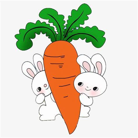 imagenes de zanahorias kawaii conejo de dibujos animados y zanahorias ilustracion de