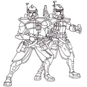 lego coloring pages star wars commander clone trooper arc troopers custom havoc blayaden