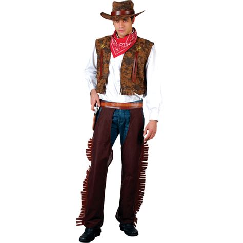 wayne western cowboy mens fancy dress costume ebay