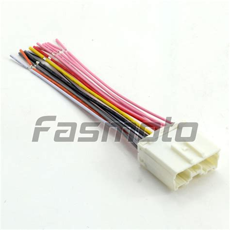 jvc car stereo wiring harness adapter car free