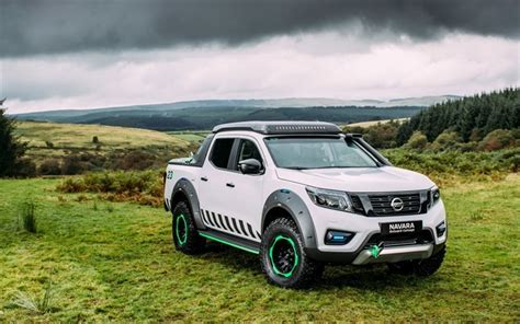 nissan truck white wallpapers nissan navara 2016 enguard white