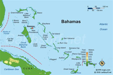 where is the bahamas on the world map travel information cycle caribbean