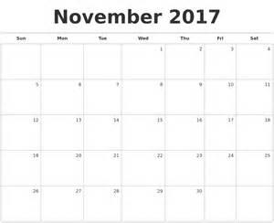 Calendar 2017 Monthly November August 2017 Print A Calendar