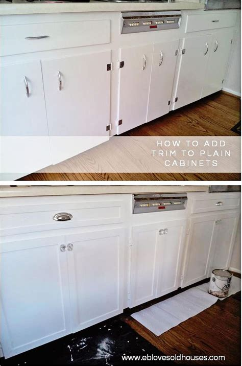 add trim to kitchen cabinets conexaowebmix