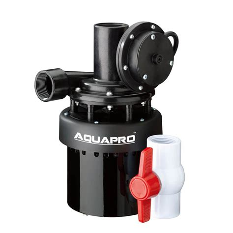 aquapro  hp utility sink pump    home depot