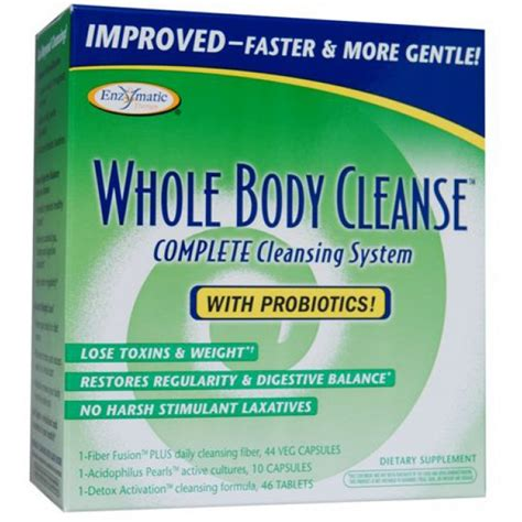 Whole Detox System by Enzymatic Therapy Whole Cleanse Complete 10 Day
