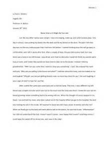 How To Write A Memoir Essay memoir essay 1