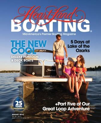 heartland boating magazine heartland boating magazine subscription digital issues on