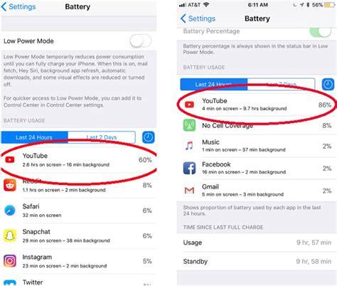 application design battery issues แอพ youtube thaitechnewsblog