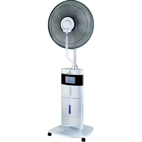 battery operated misting fan misting fans misting fan u2013 wall mounted tornado 66cm