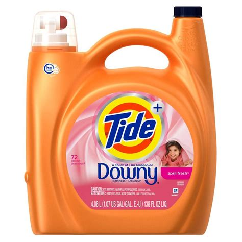 downy washer tide 138 oz april fresh high efficiency liquid laundry