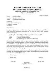 contoh surat permohonan bantuan yang baik