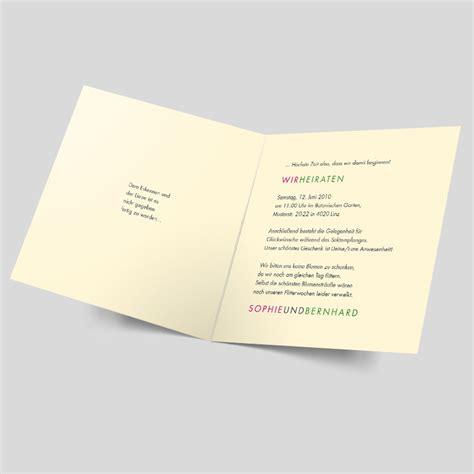 Schlichte Einladungskarten Hochzeit by Schlichte Einladungskarten Hochzeit Schlichte