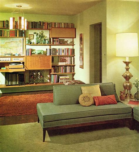 1960 s living room mid century furniture pinterest
