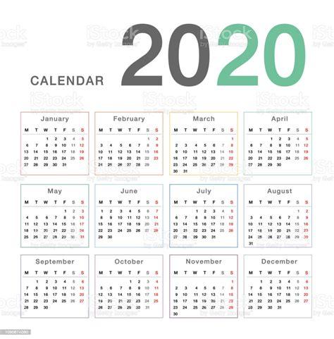 calendar year  vector design template simple  clean design calendar    white