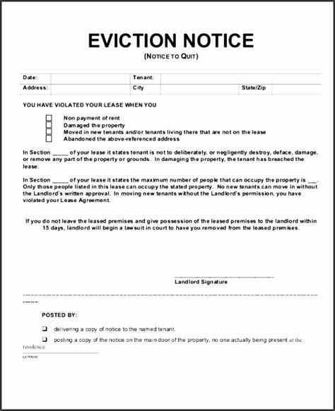 free printable eviction notice template alberta 6 eviction notice templates sletemplatess