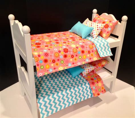 american girl doll furniture white bunk beds  bedsandthreads