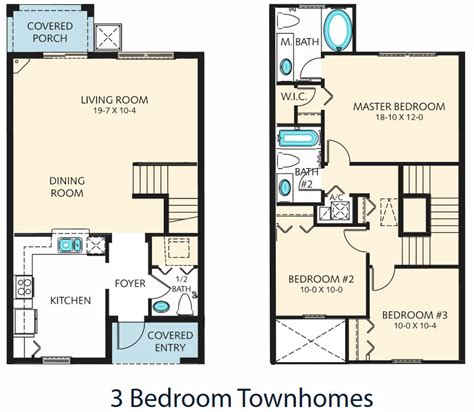 Three Bedroom Townhomes | three bedroom townhomes three bedroom townhomes regal