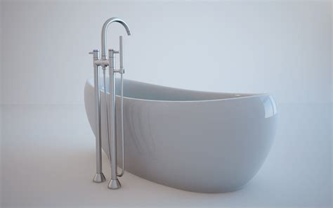 model in bathtub bath tub 3d model c4d cgtrader com