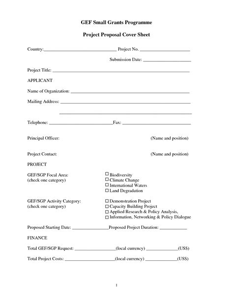 business proposal cover sheet proposal cover sheet
