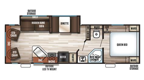 prowler travel trailer floor plans travel trailer bunkhouse floor plans