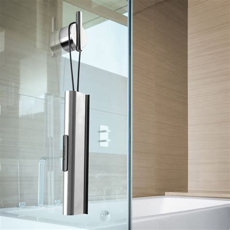 bathroom squeegee modern bathroom blomus vianto shower squeegee stainless steel zuri furniture